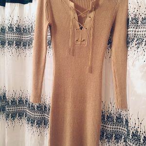Micheal Kors Nude Sweeter Dress XXS